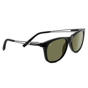 Serengeti Pavia Polarized Sunglasses Shiny Black